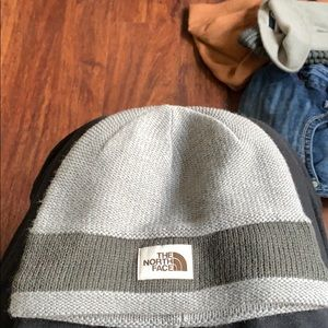 The North Face grey hat